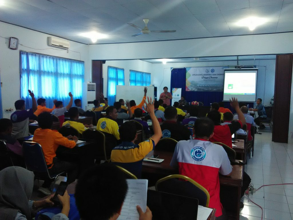 Training Workshop for The National Observer Program at Bitung