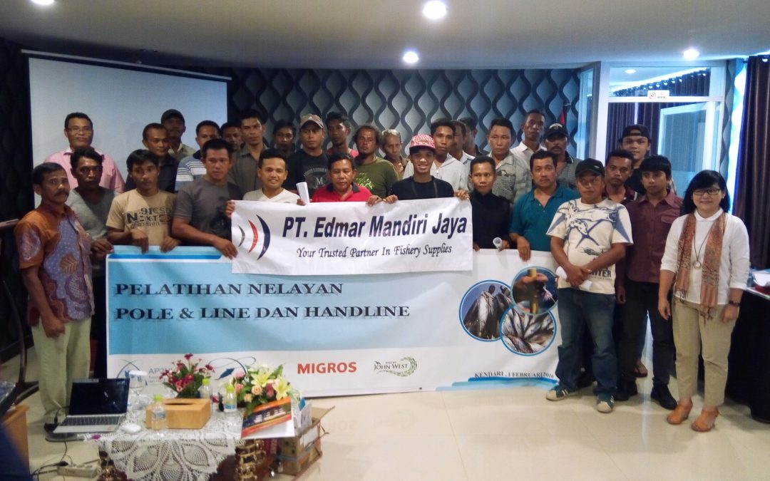 The Fishermen Training conducted by AP2HI in Kendari Showed Positive Result