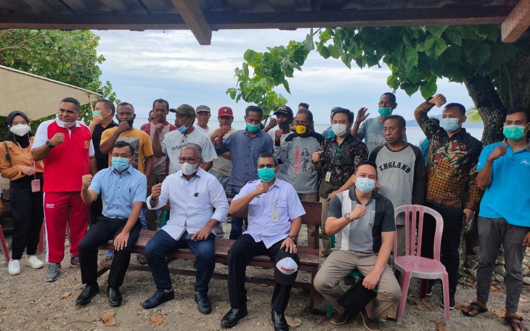Dukung LIN, Desa Tial, Maluku Tengah, Dikunjungi Staf Presiden dan KKP