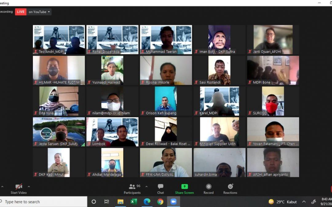 AP2HI Ikuti Webminar Sosialisasi Perizinan Perikanan Tangkap
